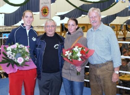 v.l. Rahel Richter, Manfred Kaltenhäuser, Cindy Metz und Roland Müller